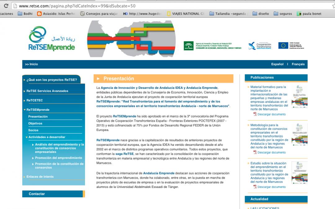 GARCIMAR ARTESANOS se interesa por un proyecto europeo de la Agencia Idea y Andalucía Enprende.