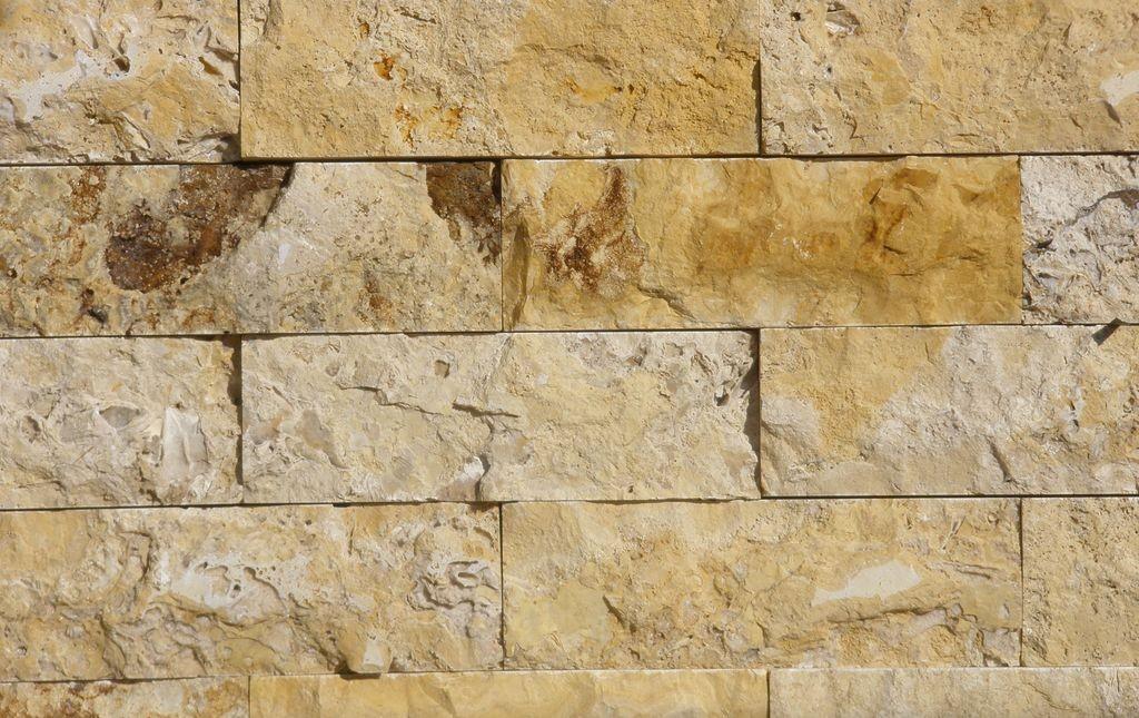 Ladrillo de piedra amarillo creactinnova - Ladrillos de piedra ...